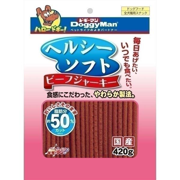 (まとめ)ドギーマンヘルシーソフトビーフジャーキー 420g【×24セット】【日時指定不可】:DECO MAISON