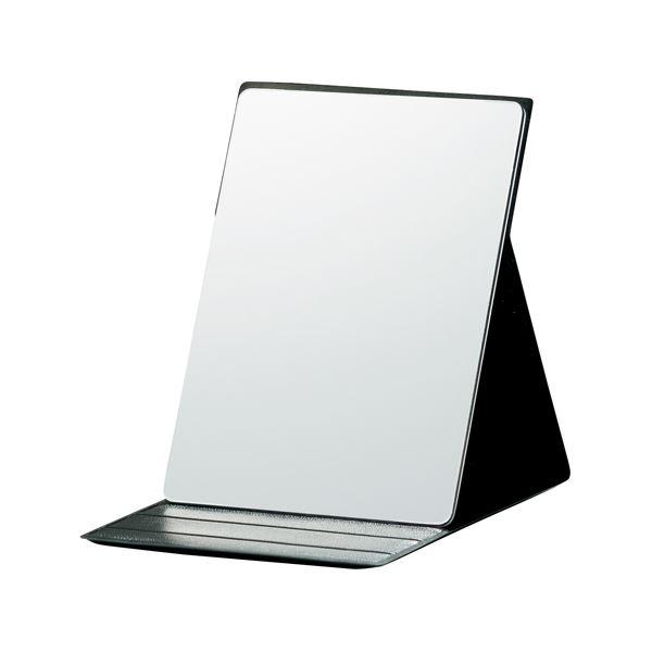 (まとめ) 堀内鏡工業 いきいきミラー折立MIK-01【×5セット】【日時指定不可】