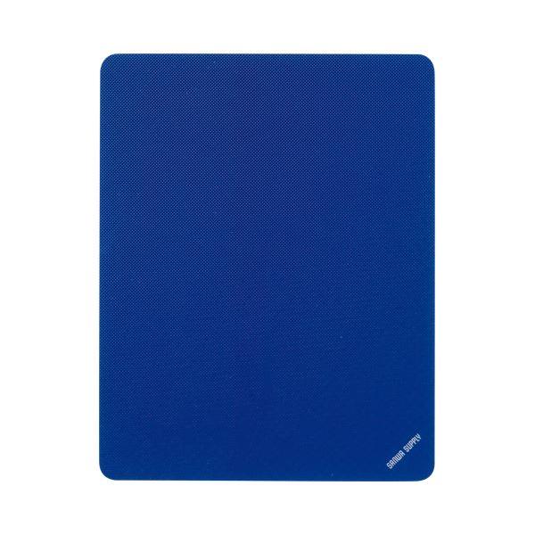(まとめ) サンワサプライ マウスパッド Sサイズブルー MPD-EC25S-BL 1枚 【×30セット】【日時指定不可】