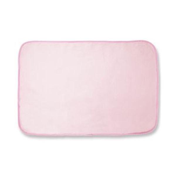 (まとめ)オーミケンシ フリースひざ掛け ピンク 1枚【×20セット】【日時指定不可】