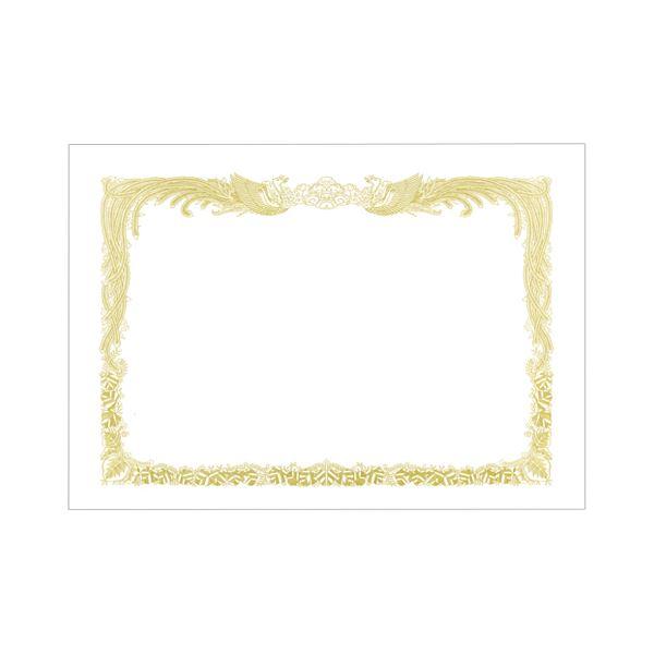(まとめ) TANOSEE 賞状用紙 白 B5 タテ書用 1冊(10枚) 【×30セット】【日時指定不可】