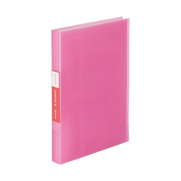 (まとめ) キングジム シンプリーズクリアーファイル(透明) A4タテ 60ポケット 背幅32mm ピンク TH184TSPTP 1冊 【×30セット】【日時指定不可】