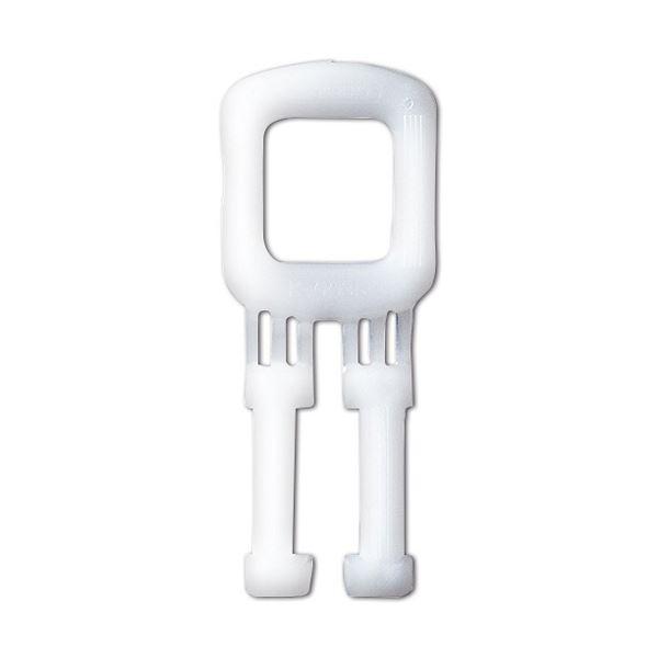 (まとめ) TANOSEE PPバンドストッパー 15mm 白 1パック(1000個) 【×5セット】【日時指定不可】