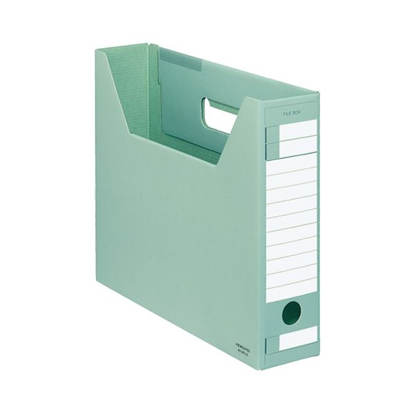 (まとめ) コクヨ ファイルボックス-FS(Dタイプ) A4ヨコ 背幅75mm 緑 A4-SFD-G 1セット(5冊) 【×10セット】【日時指定不可】