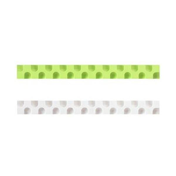 (まとめ)コクヨ 消しゴム カドケシスティックつめ替え用消しゴム(ライトグリーン・ホワイト)ケシ-U600-4 1セット(20本:2本×10パック)【×10セット】【日時指定不可】