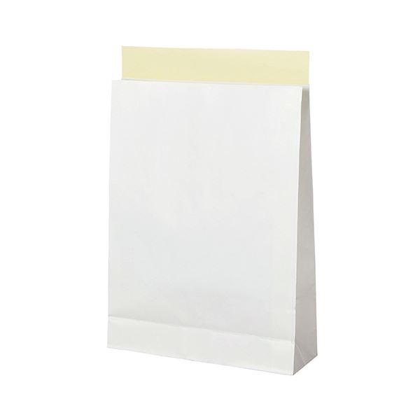 (まとめ)TANOSEE 宅配袋 晒片つや 大 白封かんテープ付 1パック(100枚)【×3セット】【日時指定不可】