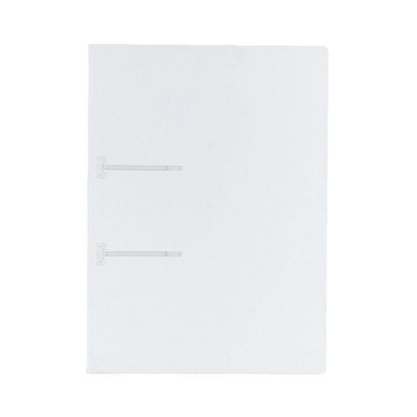(まとめ) コクヨ ファスナーファイル(クリヤーカラー) A4タテ 2穴 90枚収容 透明 フ-P170T 1冊 【×100セット】【日時指定不可】