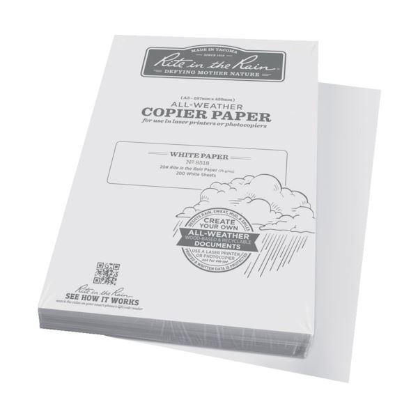 ライトインザレイン コピー用紙 A38518 1冊(200枚)【日時指定不可】