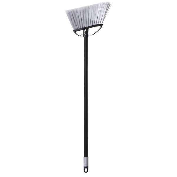 (まとめ) 床用ほうき/フロアブラシ 【ショートタイプ ブラック】 掃除用品 『ka:z clean』 【60個セット】【日時指定不可】