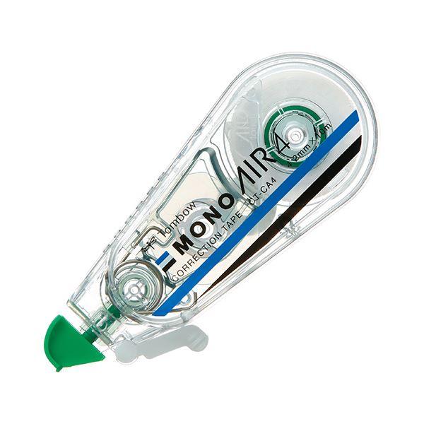 (まとめ) トンボ鉛筆 修正テープ モノエアー4.2mm幅×10m 緑 CT-CA4 1個 【×50セット】【日時指定不可】