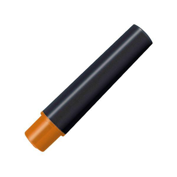 (まとめ) ゼブラ 水性マーカー紙用マッキー(太+細)用インクカートリッジ オレンジ RWYT5-OR 1パック(2本) 【×100セット】【日時指定不可】