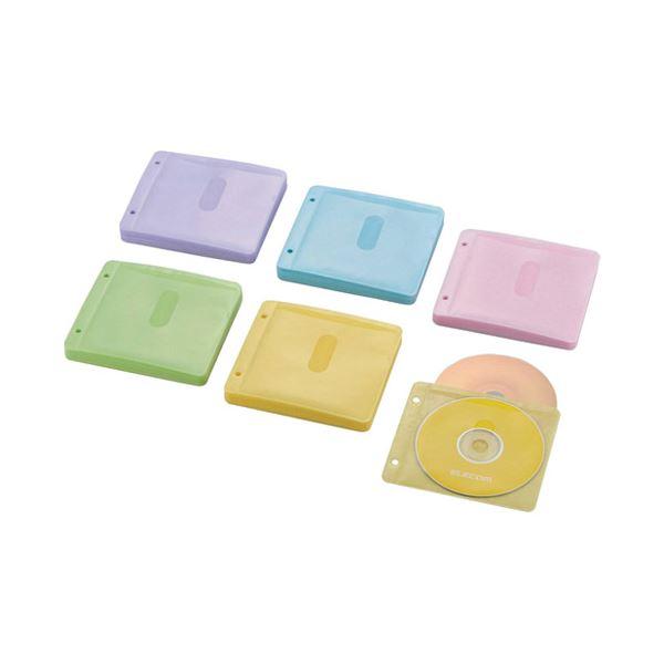 (まとめ) エレコム BD・DVD・CD追加用ポケットCCD-NBWB120ASO【×10セット】【日時指定不可】
