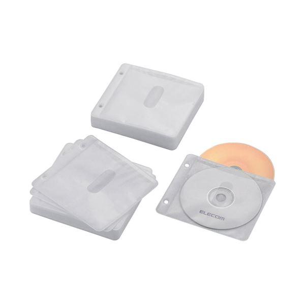 (まとめ) エレコム BD・DVD・CD追加用ポケットCCD-NBWB120WH【×10セット】【日時指定不可】