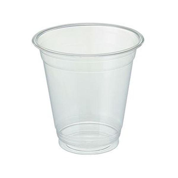 (まとめ)TANOSEE リサイクルPETカップ(広口)370ml(12オンス)1パック(50個)【×20セット】【日時指定不可】