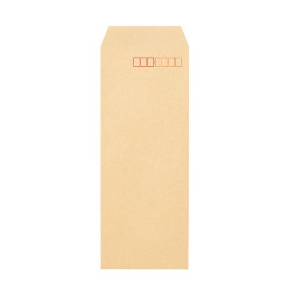 (まとめ) TANOSEE クラフト封筒 テープ付長4 70g/m2 〒枠あり 1パック(100枚) 【×30セット】【日時指定不可】