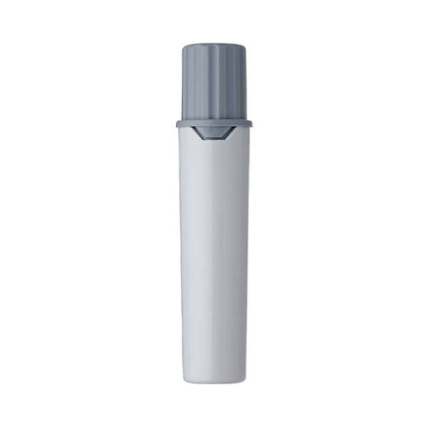 (まとめ) 三菱鉛筆 水性マーカー プロッキー詰替えタイプ用インクカートリッジ 太字角芯+細字丸芯 灰 PMR70.37 1本 【×300セット】【日時指定不可】