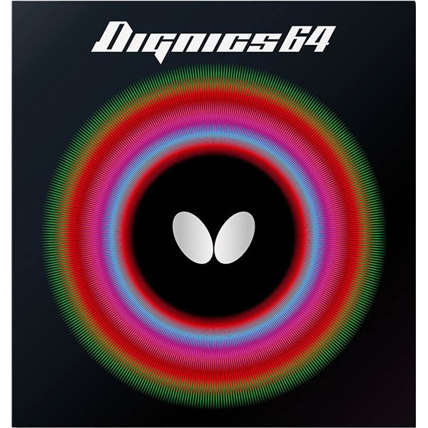 Butterfly(バタフライ) ハイテンション裏ラバー DIGNICS 64 ディグニクス64 レッド 厚【日時指定不可】