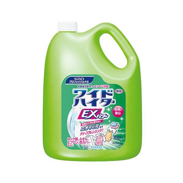 (まとめ) 花王 ワイドハイターEXパワー 業務用 4.5L 1本 【×5セット】【日時指定不可】