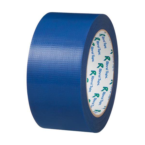 (まとめ) リンレイ PEワリフカラーテープ 50mm×25m 青 674アオ 1巻 【×30セット】【日時指定不可】