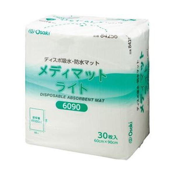 (まとめ)オオサキメディカル メディマットライト 60×90cm 1パック(30枚)【×3セット】【日時指定不可】