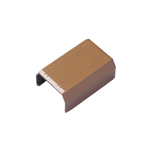 (まとめ) サンワサプライ ケーブルカバー22mm幅 直線 ブラウン CA-KK22BRJ 1個 【×50セット】【日時指定不可】