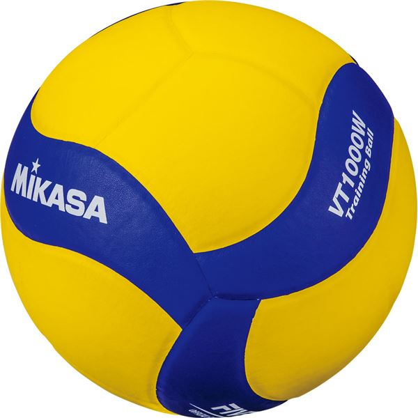 MIKASA(ミカサ)バレーボール トレーニングボール5号球 1000g【VT1000W】【日時指定不可】