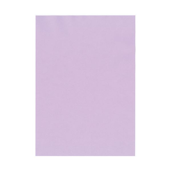 (まとめ)北越コーポレーション 紀州の色上質A4T目 薄口 りんどう 1箱(4000枚:500枚×8冊)【×3セット】【日時指定不可】