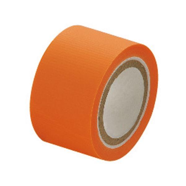 (まとめ)セキスイ スマートカットテープミニ 25mm×4.5m 橙【×50セット】【日時指定不可】