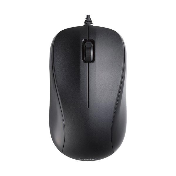 レーザーマウス/USB/3ボタン/ブラック/RoHS指令準拠 【×10セット】【日時指定不可】