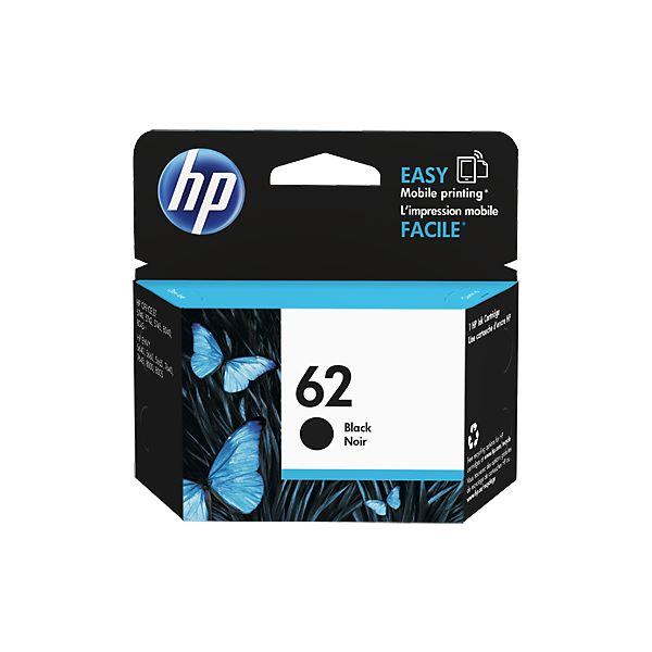 (まとめ) HP HP62 インクカートリッジ 黒C2P04AA 1個 【×10セット】【日時指定不可】
