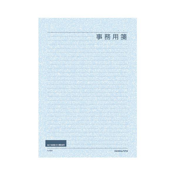 (まとめ) コクヨ 便箋事務用 A4 横罫 29行100枚 ヒ-531 1セット(5冊) 【×5セット】【日時指定不可】