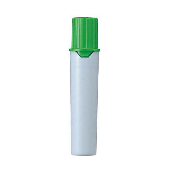 (まとめ) 三菱鉛筆 水性マーカー プロッキー詰替えタイプ用インクカートリッジ 太字角芯+細字丸芯 黄緑 PMR70.5 1本 【×300セット】【日時指定不可】