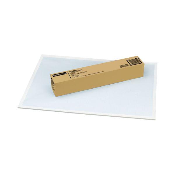 コクヨ 上質方眼紙 A1 1mm目ブルー刷り 50枚 ホ-16 1セット(4冊)【日時指定不可】