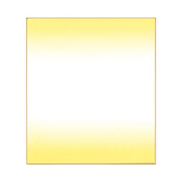 (まとめ)菅公工業 色紙ぼかし 画仙紙 クリーム ケ438【×200セット】【日時指定不可】