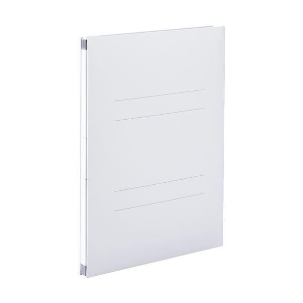 (まとめ) のびーるファイル(エスヤード) A4-S オフホワイト 10冊 【×10セット】【日時指定不可】