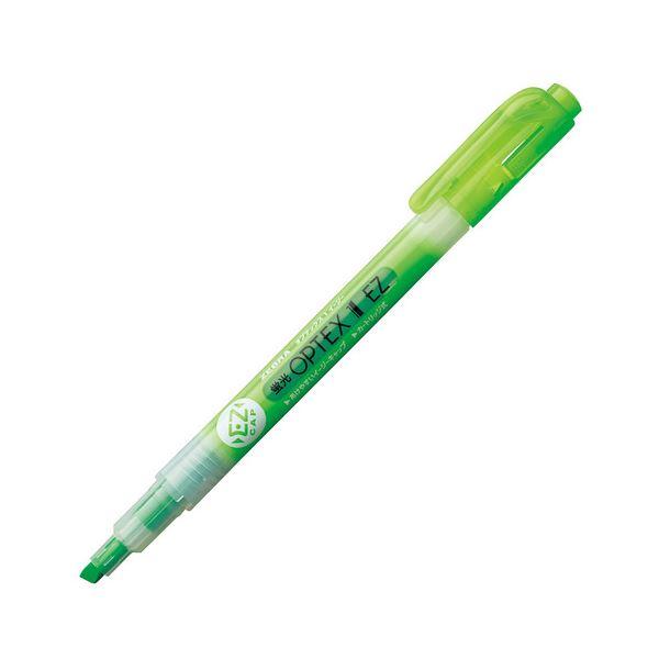 (まとめ) ゼブラ 蛍光オプテックス1 EZ 緑 WKS11-G 1本 【×300セット】【日時指定不可】