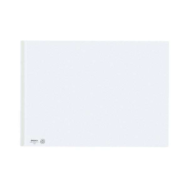 (まとめ) コクヨ レールクリヤーホルダー PETA3ヨコ 20枚収容 白 フ-TP768NW 1セット(20冊) 【×5セット】【日時指定不可】