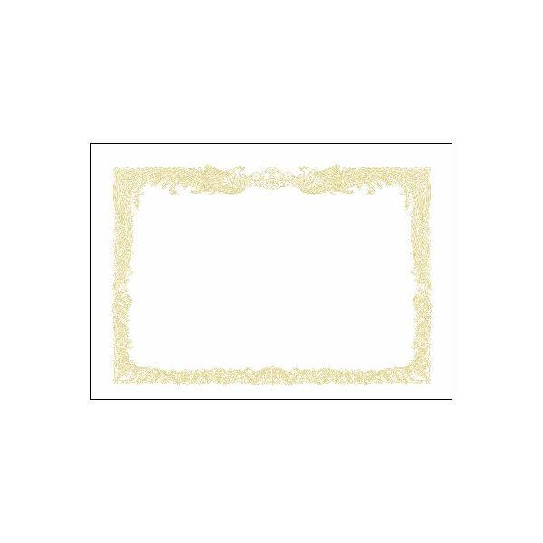 (まとめ)タカ印 賞状用紙 10-1150 B5縦書 百枚【×10セット】【日時指定不可】