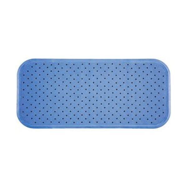 (まとめ)ワイズ スベリを防ぐ浴そうマット35×76cm ブルー 1枚【×10セット】【日時指定不可】