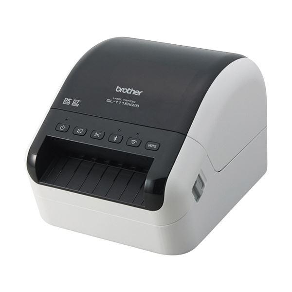 ブラザー 感熱ラベルプリンターQL-1115NWB 1台【日時指定不可】