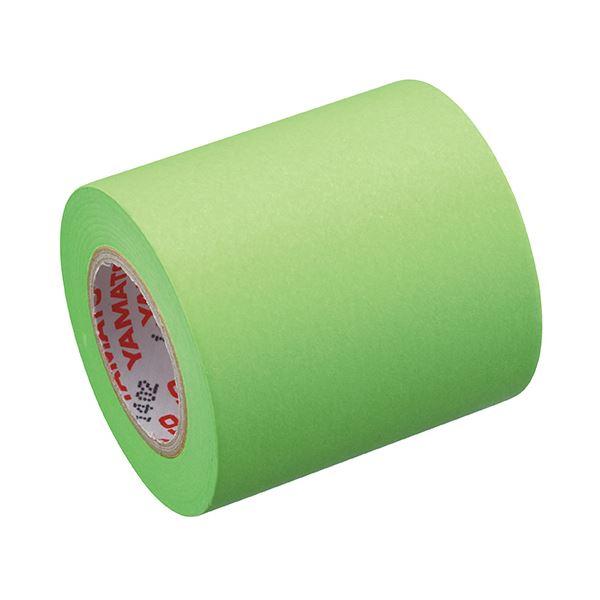 (まとめ) ヤマト メモック ロールテープ 蛍光紙詰替用 50mm幅 ライム RK-50H-LI 1巻 【×50セット】【日時指定不可】