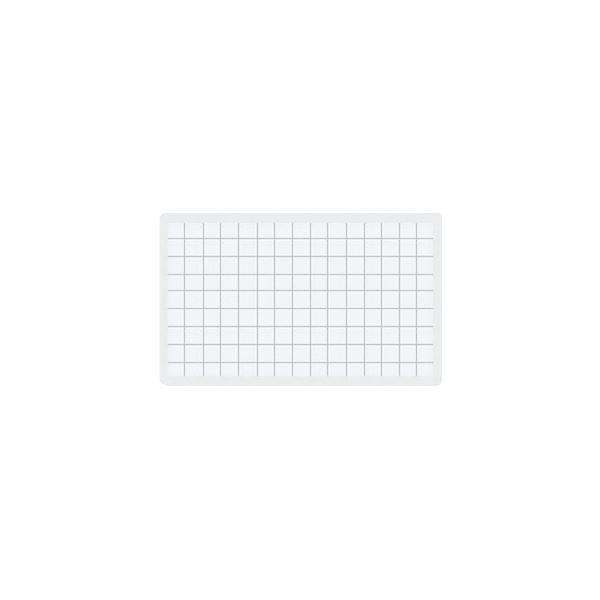 (まとめ) コクヨ マグネット見出し 43×74mm 白 マク-403W 1個 【×50セット】【日時指定不可】