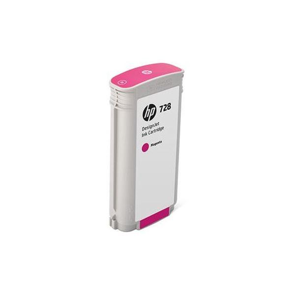 (まとめ)HP HP728 インクカートリッジマゼンタ 130ml F9J66A 1個【×3セット】【日時指定不可】