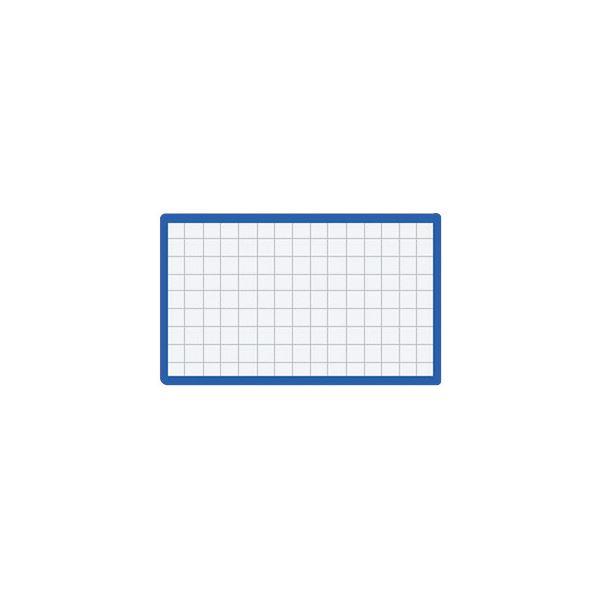 (まとめ) コクヨ マグネット見出し 43×74×1.2mm 青 マク-403B 1個 【×50セット】【日時指定不可】