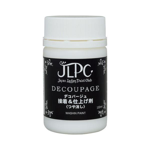 (まとめ)JLPCデコパージュ接着&仕上げ剤200ml【×5セット】【日時指定不可】