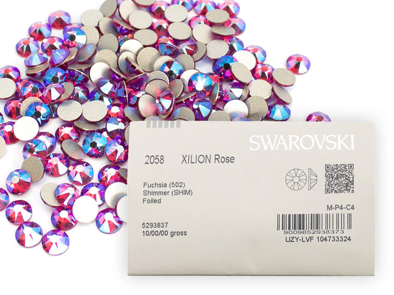 正規激安 スワロフスキーラインストーン nohotfix 2088 業務用パック 1440粒入り 豊富な品 フィッシャーシマーss16