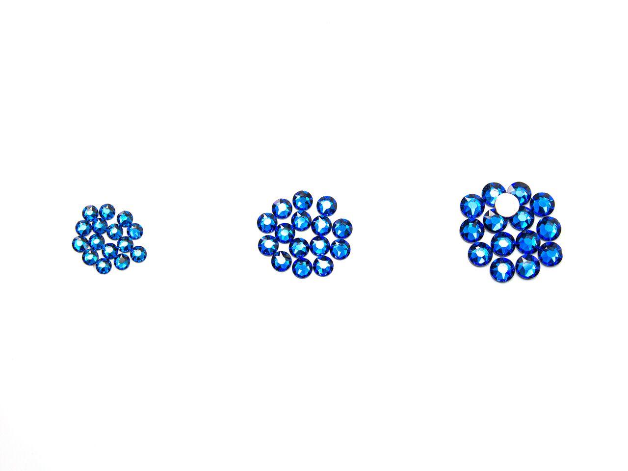 [ワンコイン!]ホットフィックス 3サイズMIXセット!SS12/SS16/SS20 各15粒  スワロフスキー/SWAROVSKI/ラインストーン/スワロ/アイロン/デコ:スワロフスキー通販 デコダリア