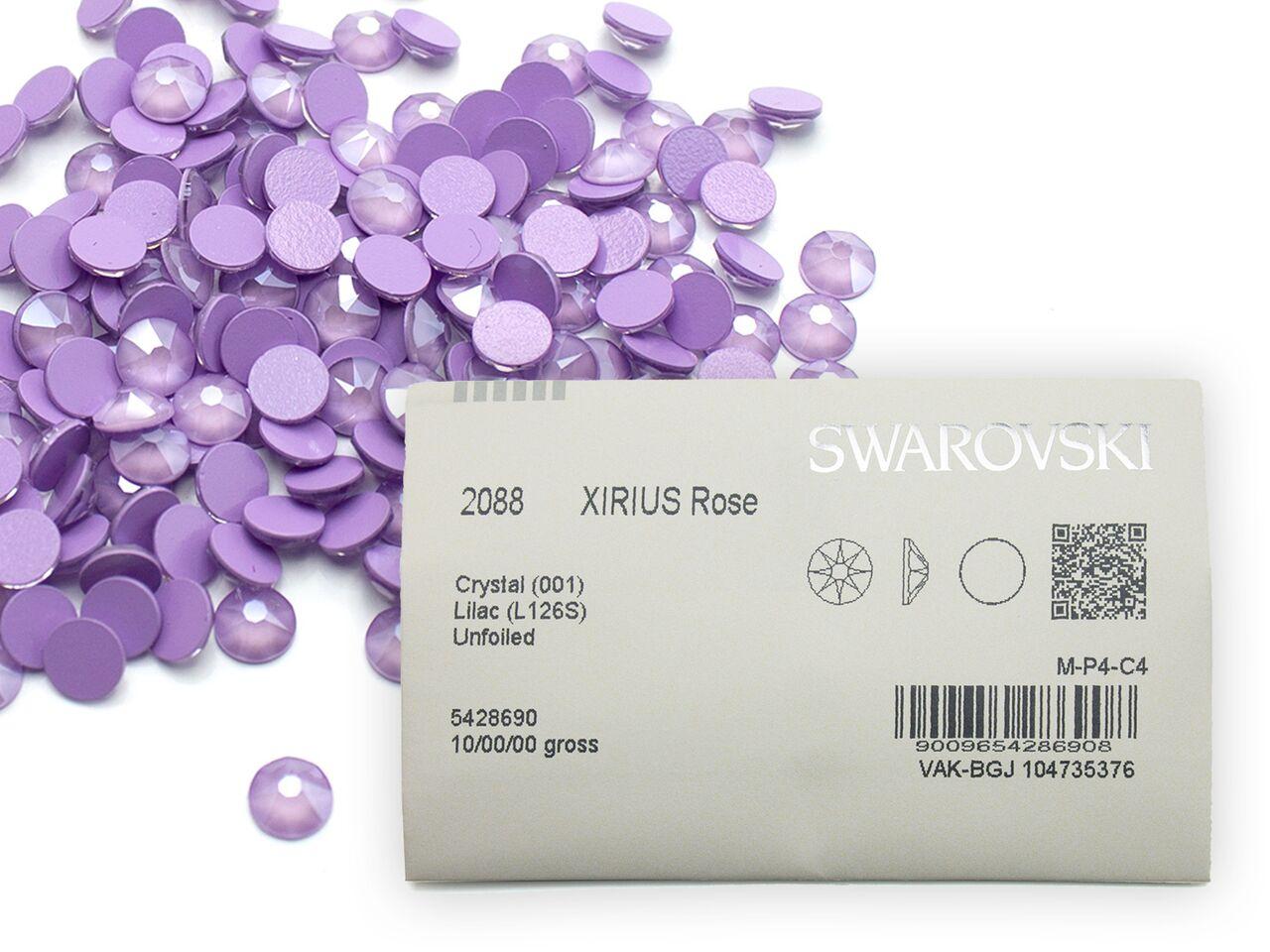 スワロフスキーラインストーン 2088 クリスタルライラックss20 2020 1440粒入り 定番キャンバス 業務用パック