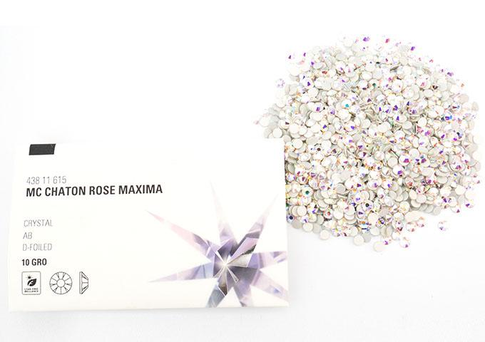 プレシオサフラットバック nohotfix プレシオサ FB お中元 96粒 セール品 クリスタルオーロラss48 MAXIMA