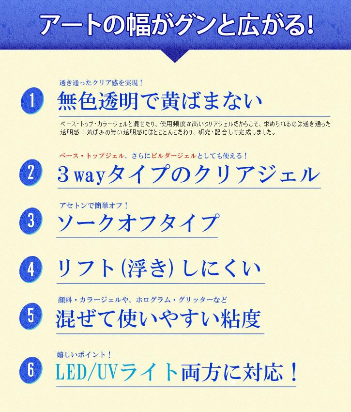 클리어 젤 (LOAVE NAIL) 베이스/탑으로도 사용할 수 있는 다용도 젤!!